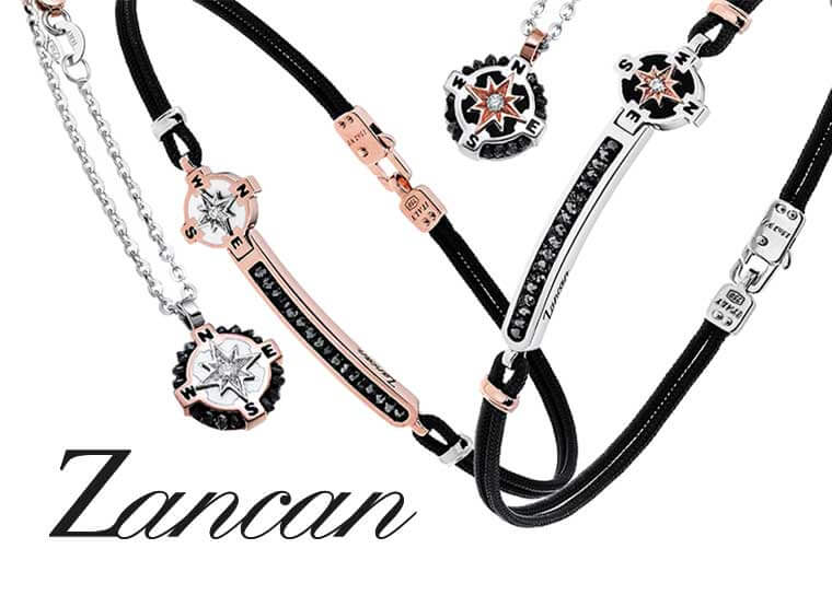 Zancan ювелирные изделия для мужчин