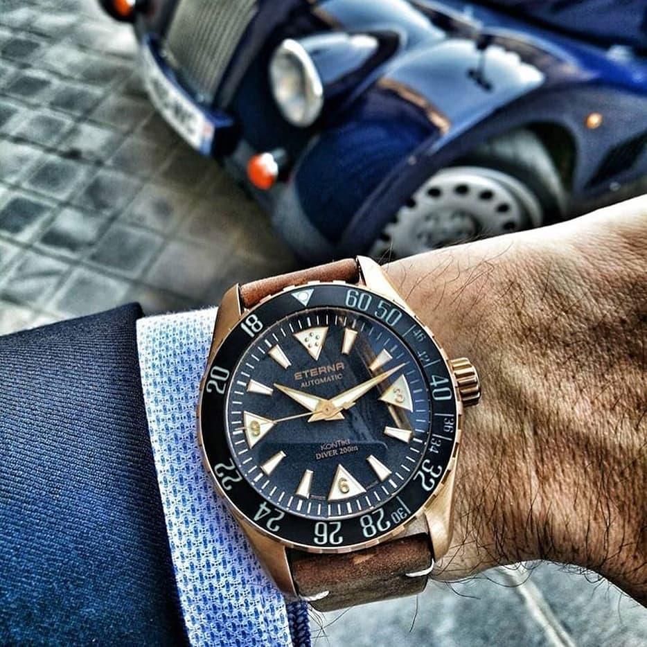 Швейцарские часы Eterna – эталон надежности и качества