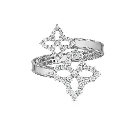 Ювелирный бренд Roberto Coin коллекция Diamonds Princess Кольцо ADR888RI1507