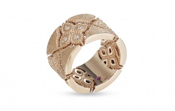 Ювелирный бренд Roberto Coin Коллекция Venetian Flower Кольцо ADR777RI0877_16_r