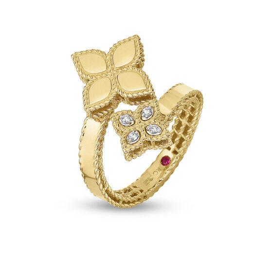Ювелирный бренд Roberto Coin Коллекция Princess Flower Кольцо ADR777RI0644