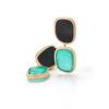 Ювелирный бренд Roberto Coin Коллекция Black Jade Серьги ARV888EA1008