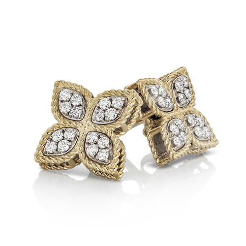 Ювелирный бренд Roberto Coin Коллекция Princess Flower Серьги ADR777EA0639