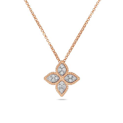 Ювелирный бренд Roberto Coin Коллекция Princess Flower Колье ADR777CL0680_r