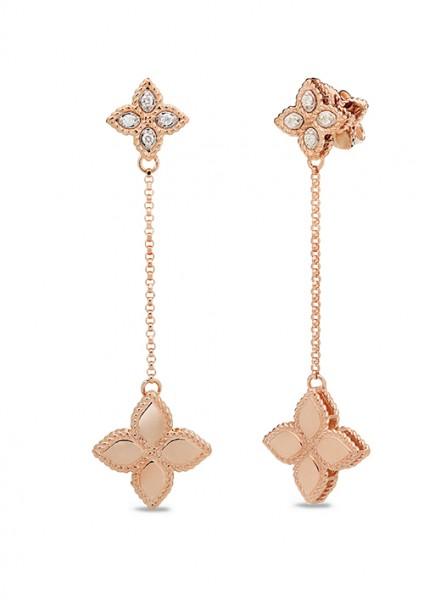 Ювелирный бренд Roberto Coin Коллекция Princess Flower Серьги ADR777EA0741