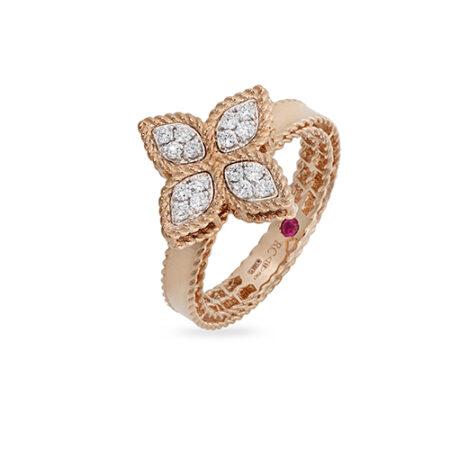 Ювелирный бренд Roberto Coin Коллекция Princess Flower Кольцо ADR777RI0639_R