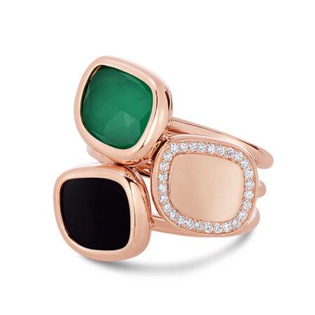 Ювелирный бренд Roberto Coin Коллекция Black Jade Кольцо ADV888RI1017_r