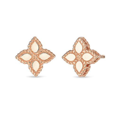 Ювелирный бренд Roberto Coin Коллекция Princess Flower Серьги AR777EA0640