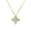 Ювелирный бренд Roberto Coin Коллекция Princess Flower Колье ADR777CL0680_y_b