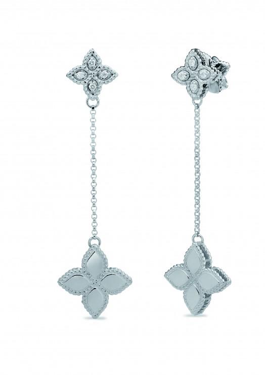 Ювелирный бренд Roberto Coin Коллекция Princess Flower Серьги ADR777EA0741_w