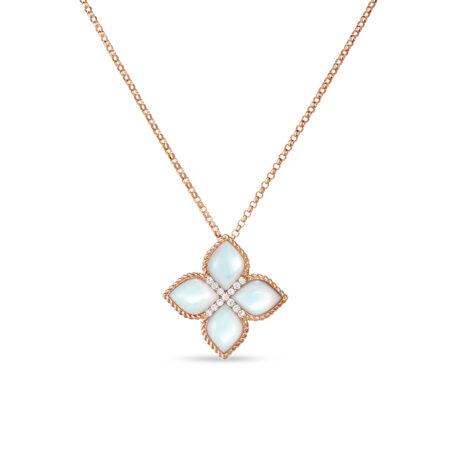 Ювелирный бренд Roberto Coin коллекция Princess Flower Колье ADV888CL1569_r