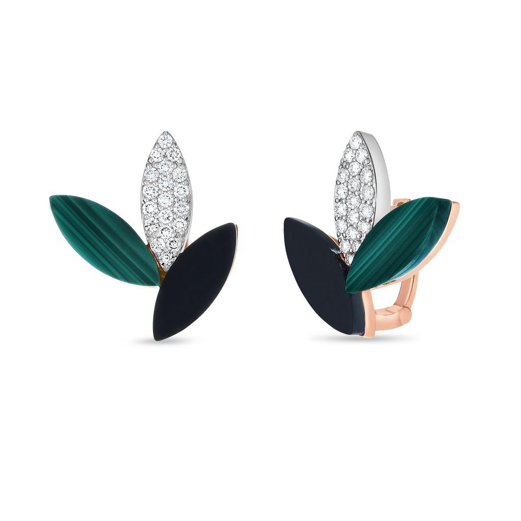Ювелирный бренд Roberto Coin Коллекция Petals Серьги ADV888EA1667