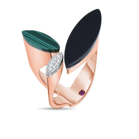 Ювелирный бренд Roberto Coin Коллекция Petals Кольцо