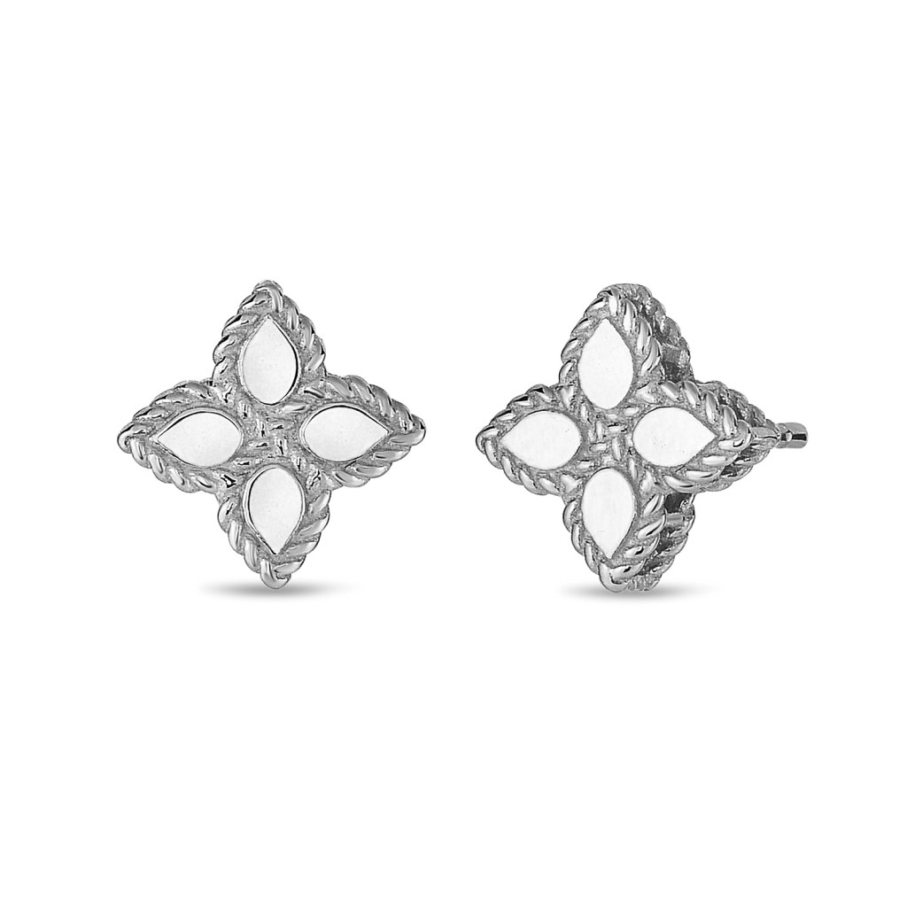 Ювелирный бренд Roberto Coin коллекция Princess Flower Серьги AR777EA0640_w