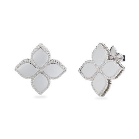 Ювелирный бренд Roberto Coin коллекция Princess Flower Серьги AR777EA0642_w