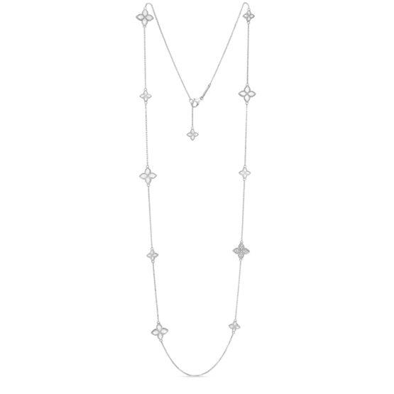 Ювелирный бренд Roberto Coin коллекция Princess Flower Колье ADR777CL0649