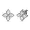 Ювелирный бренд Roberto Coin коллекция Princess Flower Серьги ADR777EA0639_w