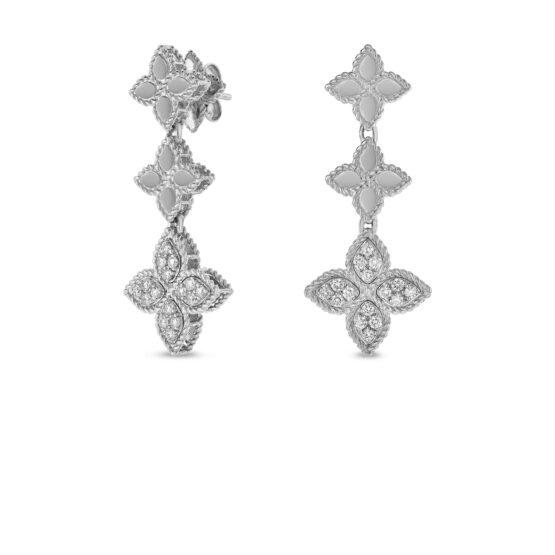 Ювелирный бренд Roberto Coin коллекция Princess Flower Серьги ADR777EA0802_w