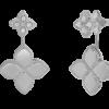 Ювелирный бренд Roberto Coin коллекция Princess Flower Серьги ADR777EA0852_w