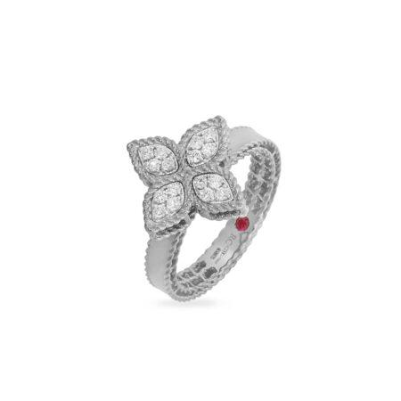 Ювелирный бренд Roberto Coin коллекция Princess Flower Кольцо ADR777RI0643_w
