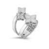 Ювелирный бренд Roberto Coin коллекция Princess Flower Кольцо ADR777RI0645_w