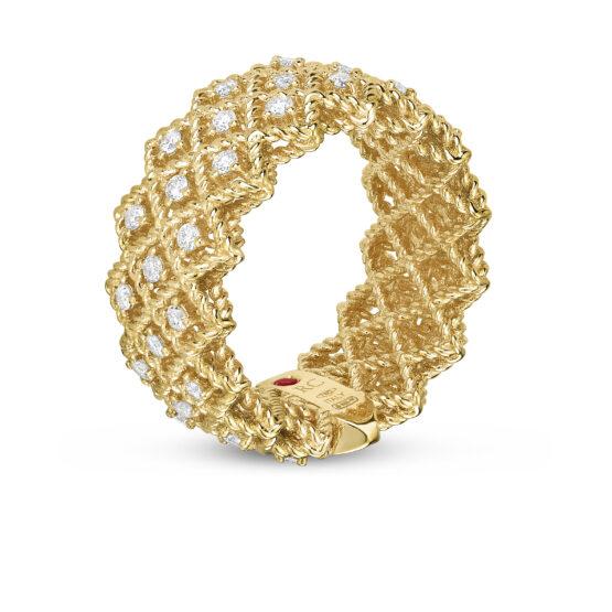 Ювелирный бренд Roberto Coin коллекция Roman Barocco Кольцо ADR777RI0870_y