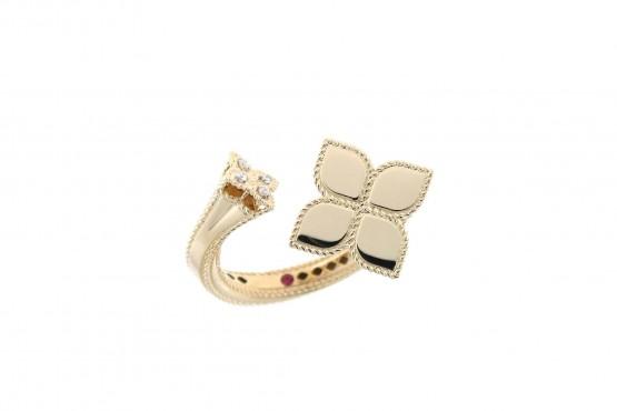 Кольцо Roberto Coin коллекция Princess Flower ADR777RI0913YW
