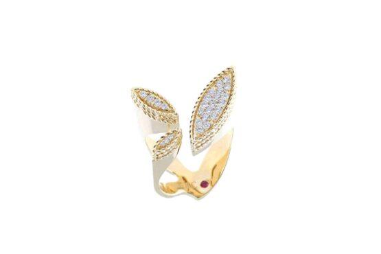 Кольцо Roberto Coin коллекция Princess Garden ADR777RI1160