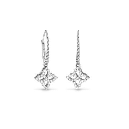 Ювелирный бренд Roberto Coin коллекция Diamonds Princess Серьги ADR888EA1607_SI