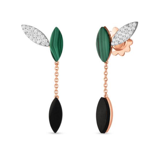 Ювелирный бренд Roberto Coin коллекция Petals Серьги ADV888EA1666
