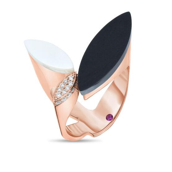 Ювелирный бренд Roberto Coin коллекция Petals Кольцо ADV888RI1660