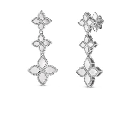 Ювелирный бренд Roberto Coin коллекция Princess Flower Серьги AR777EA0800_w