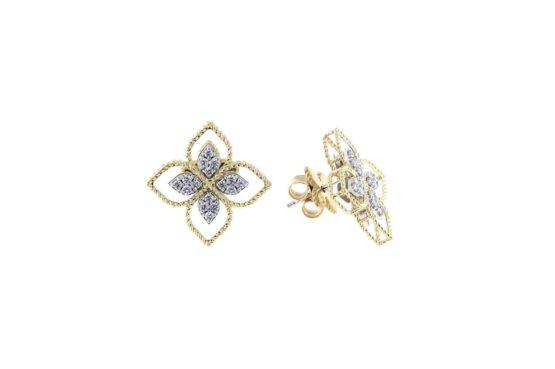 Серьги Roberto Coin коллекция Princess Flower ADR777EA2665