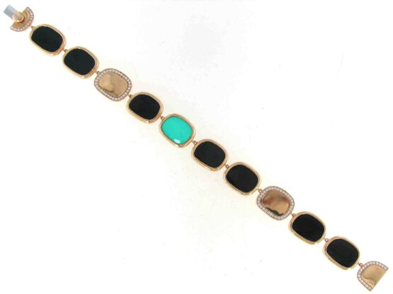 Браслет Roberto Coin коллекция Black Jade