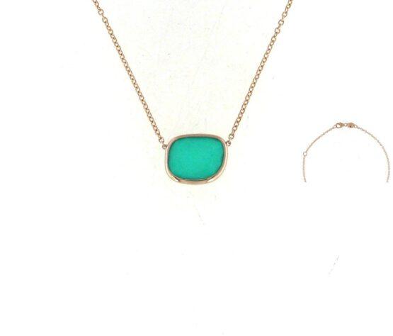 Ювелирный бренд Roberto Coin коллекция Black Jade Колье ARV888CL1402