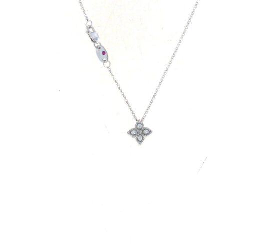 Колье в белом золоте с бриллиантами из коллекции Princess FlawerADR777CL0679W