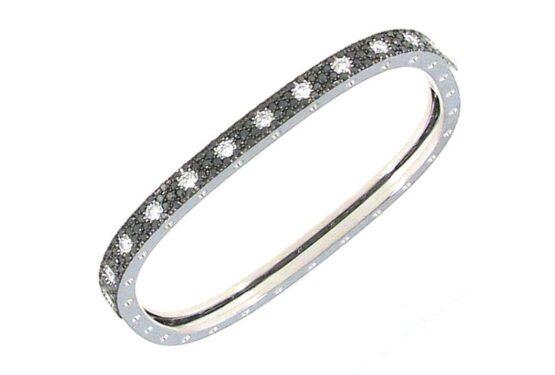 Браслет с чёрными бриллиантами из коллекции Pois Moi ADR888BA1176
