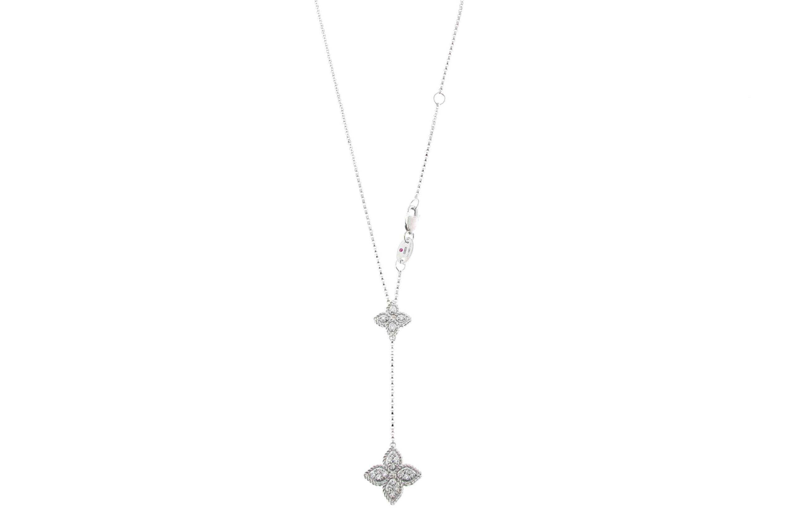 Колье Roberto Coin коллекция Princess Flower ADR777CL0831W