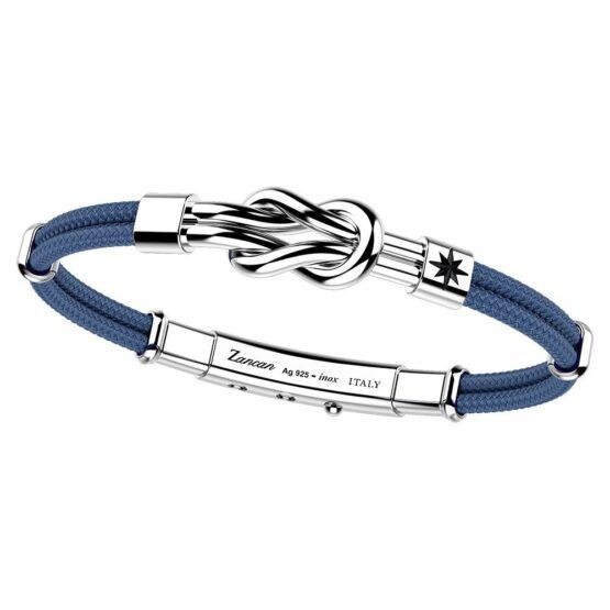 ZANCAN браслет из серебра и кевлара EXB664-AV