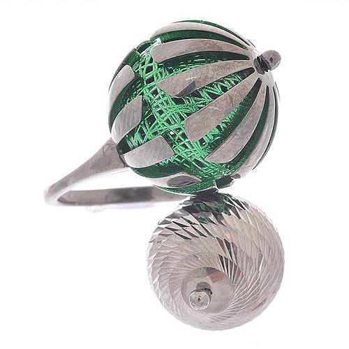 Серебряное кольцо из новой коллекции