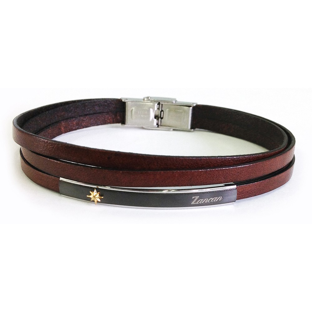 leather-bracelet-with-wind-rose-on-steel-plate (2)